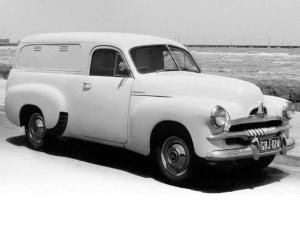 Holden Delivery Panel Van 1953 года