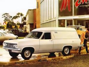 Holden Panel Van 1966 года