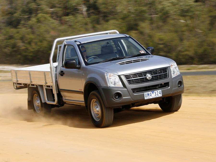 Holden Rodeo Single Chassis Cab