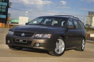 2007 Holden Commodore Wagon SVZ