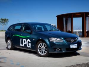 Holden Berlina Sportwagon LPG 2012 года