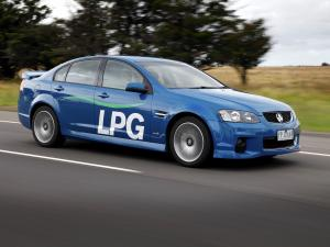 Holden Commodore SV6 LPG 2012 года