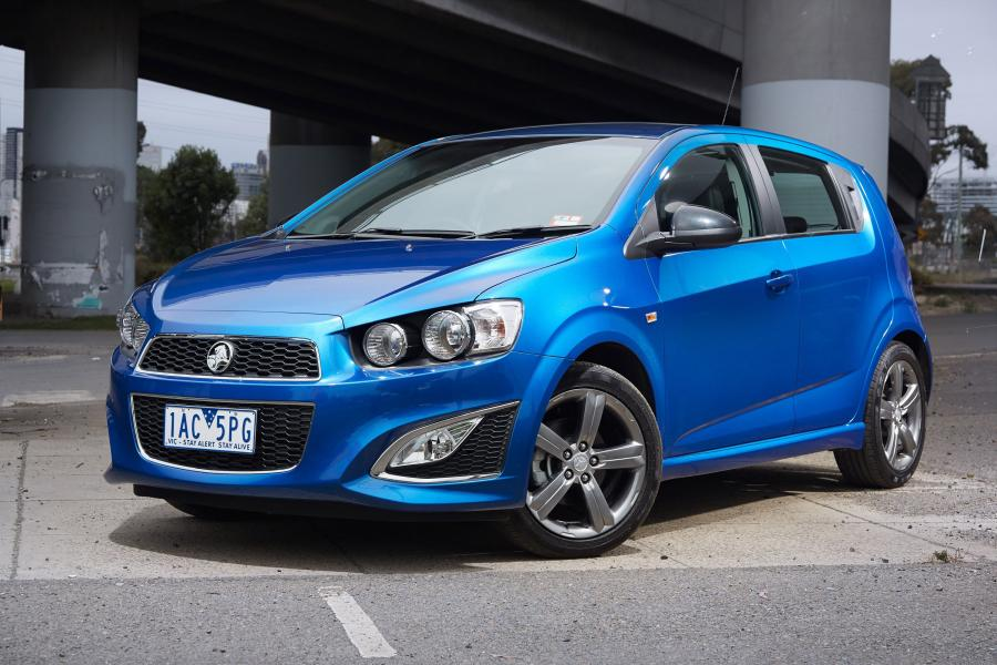 Holden Barina RS '2013