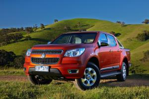 Holden Colorado 2014 года