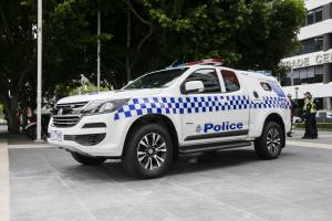 Holden Colorado Space Cab Police '2017