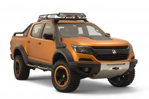 2017 Holden Colorado Xtreme Concept