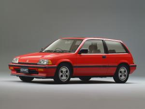Honda Civic Si Hatchback 1984 года (JP)
