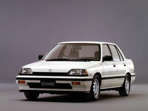 1985 Honda Civic Si Sedan