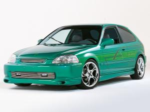 Honda Civic Hatchback by Xenon 1995 года