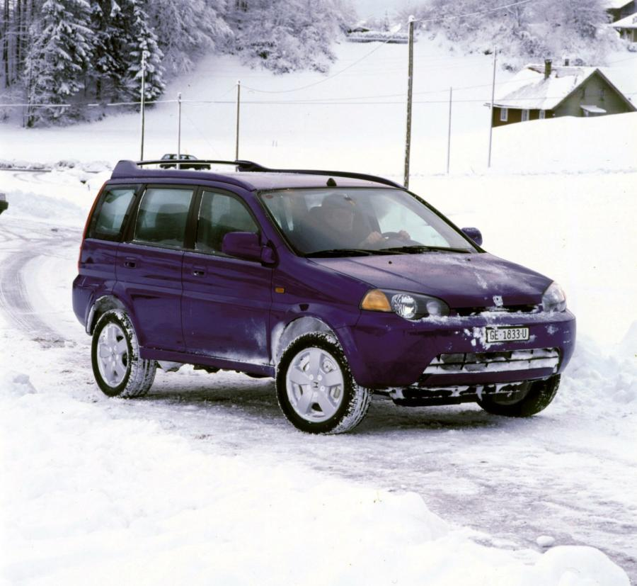 1999 Honda HR-V 5-Door (EU)