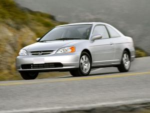 Honda Civic Coupe 2001 года