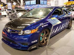 Honda Civic Si by Mackin Industries 2005 года