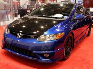 Honda Civic Si by DVS Drag Cartel 2005 года