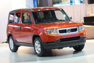 Honda Element Concept Dog Friendly