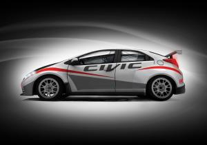 Honda Civic WTCC Drawings 2012 года