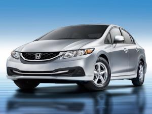 Honda Civic CNG Sedan 2013 года