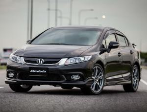2013 Honda Civic Sedan by Modulo