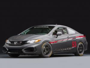 Honda Civic Si Coupe Race Car by HPD 2013 года