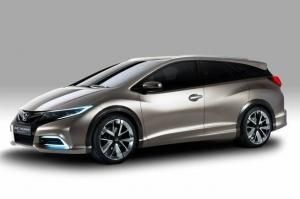 Honda Civic Tourer wagon Concept 2013 года