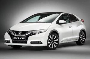 Honda Civic 2014 года (EU)