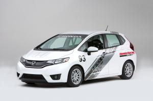 Honda Fit HPD B-Spec Race Car Concept 2014 года