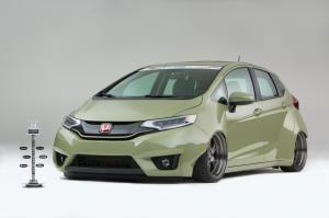 Honda Fit Special Edition by Kylie Tjin 2014 года