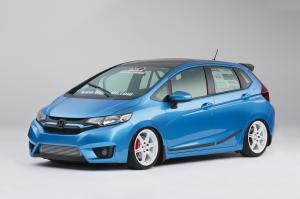 Honda Fit Turbo by Bisimoto Engineering 2014 года