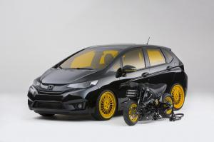 Honda Fit by MAD Industries 2014 года