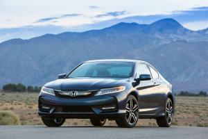Honda Accord Touring Coupe 2016 года