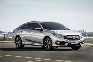 Honda Civic 2016 года