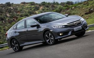 Honda Civic EX Sedan 2016 года (LA)