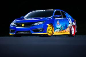 2016 Honda Civic Sonic the Hedgehog