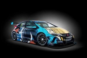 Honda Civic WTCC Art Car Jean Graton 2016 года
