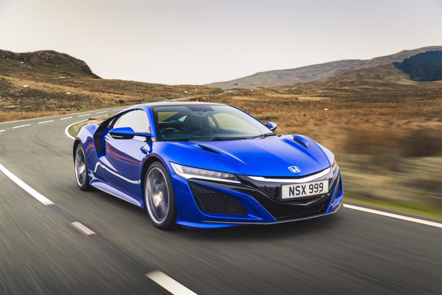 2016 Honda NSX (UK)