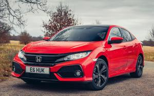 Honda Civic Hatchback 2017 года (UK)