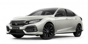 Honda Civic VTi-LX Hatchback Black Pack 2017 года (AU)