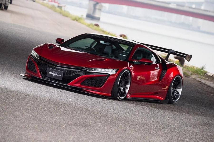 2017 Honda NSX by Liberty Walk on Forgiato Wheels (Maglia-ECL)