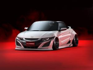 Honda S660 SSX-660R by LB Performance 2017 года