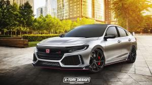 Honda Insight Type-R by X-Tomi Design 2018 года