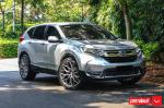 Honda CR-V by Permaisuri on Vossen Wheels (HF-2) 2019 года