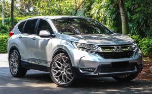 Honda CR-V by Permaisuri on Vossen Wheels (HF-2)