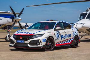 2019 Honda Civic Type R Police
