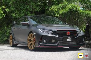 Honda Civic Type R by AWC on Vossen Wheels (S21-01) 2019 года