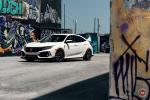 Honda Civic Type R on Vossen Wheels (GNS-3) 2019 года