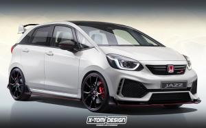 Honda Jazz Type-R by X-Tomi Design '2020