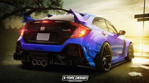 Honda Civic Type-R by X-Tomi Design 2020 года