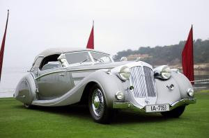 Horch 853 Sport Cabriolet by Voll & Ruhrbeck 1937 года