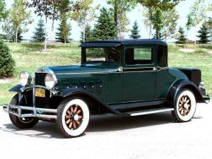 1930 Hudson Model T Coupe