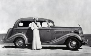 Hudson Special Eight Touring Brougham 1935 года
