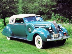 1937 Hudson Deluxe Eight Convertible Brougham